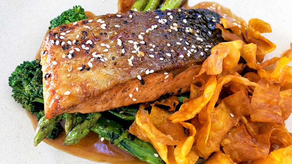 Healthy Salmon Dish Image