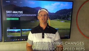 Golf Swing Changes With Reduced Speed Image