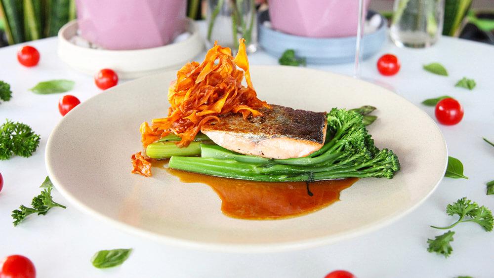 Healthy Salmon Dish Image