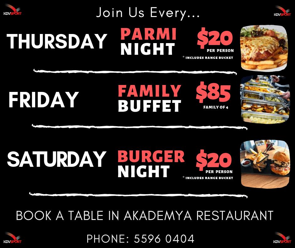 Friday Family Buffet Gold Coast