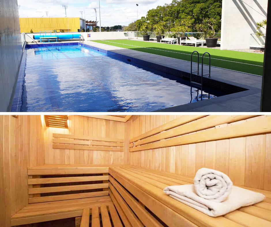 Swimming Pool & Sauna Gold Coast KDV Sport