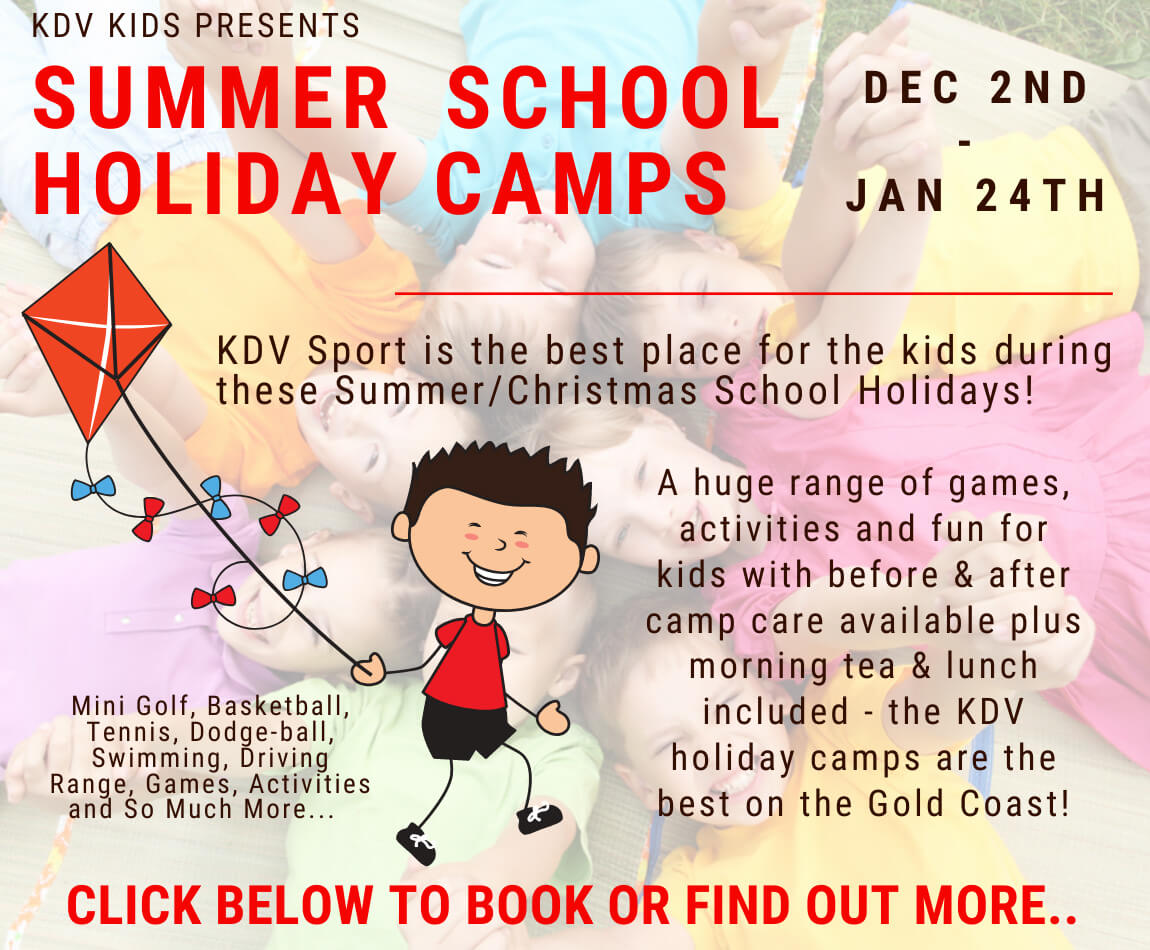 Summer School Holiday Camps Gold Coast