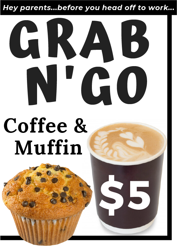 Grab a muffin and a coffee for $5 at KDV Sport